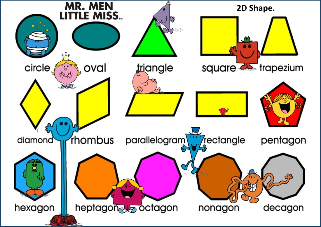 2d Shapes Names And Properties | www.imgkid.com - The ...