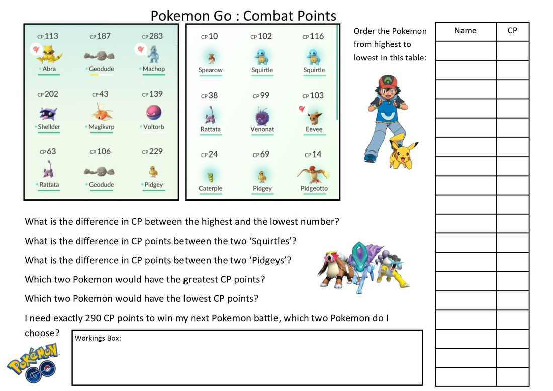 worksheet Math Story Problems maths word problem shed the mathematics pokemon go problems editable